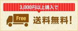 3000円以上ご購入で送料無料